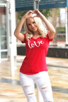 Love is All You Need Tee  3 Colors  – Boutique Amore