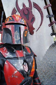 Mar'e Aliitmorut - Krayt Clan Star Wars Fett, Mandalorian Costume, Female Stars, Boba Fett, Sith, Characters, Fan Art, Costumes, Gallery