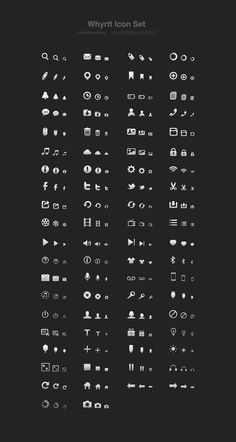 Whyrtt - Free Icon Set, #16px, #Free, #Graphic #Design, #Icon, #PSD, #Resource