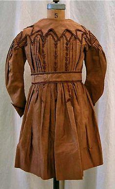 girl's dress ... c. 1870s