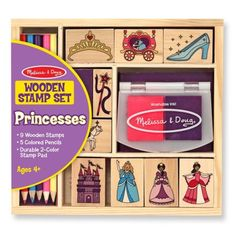 Free 2-day shipping on qualified orders over $35. Buy Wooden Princess Stamp Set at Walmart.com