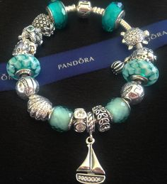 http://3-week-diet.digimkts.com/   Cannot wait for the beach  Pandora Teal Fascinating,Teal Lattice, Seashells, Petite Facets Green with Sail Away Charm