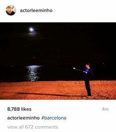 #LEEMINHO actualizo su cuenta de Instagram con esta hermosa foto en Barcelona España  (19/Septiembre /16)