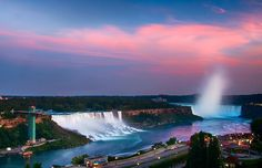 Niagara Falls At Sunset by Griffin Stewart on 500px