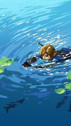 Legend of Zelda Breath of the Wild Link smartphone wallpaper by Nintendo