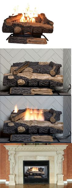 Decorative Logs Stone and Glass 38220: New R. H. Peterson G6 30 ...