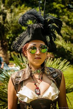 IMG_6450   by Daniel De Rudder  Belle Epoque Picnic at the Antwerp Zoo - 21/07/2016 Belle Epoque with a pinch of steampunk :-)