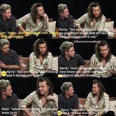 Find images and videos about one direction, niall horan and Harry Styles on We Heart It - the app to get lost in what you love. One Direction Images, One Direction Humor, One Direction Harry, Direction Quotes, Niall E Harry, Harry Styles Imagines, Harry Styles Crying, Louis Imagines, 5sos Imagines