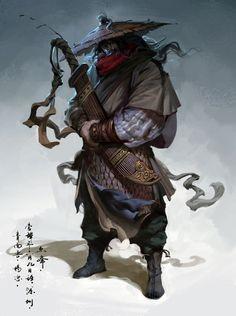 great asian swordsman