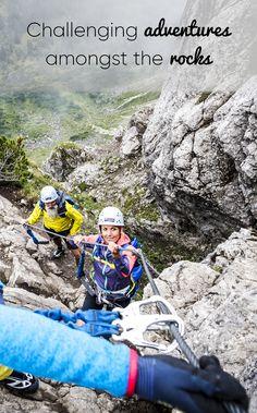 Check out via Ferratas, climbing courses & mountain adventures in Kleinwalsertal! Snowboarding, Skiing, Ferrat, Mountaineering, Rock Climbing, Rafting, Bouldering, Outdoor Activities, The Great Outdoors
