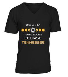 TENNESSEE Solar Eclipse Tee Shirt 2017 T-Shir..
