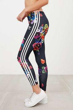 adidas Originals Floral Print Legging - Urban Outfitters