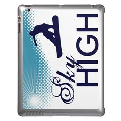 sky high snowboarding cover for iPad