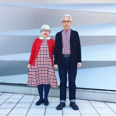 The couple that dress together, stay together?We've seen couples in colour coordinating outfits in the past, but not quite like this. The adorable couple behind the Instagram account 'BonPon511' has taken couples outfits to advanced levels – and the Internet can't get enough of them.We don't know much about the Japanese pair, apart from the fact that they are in their sixties, have been married since 1980 and obviously have incredible fashion sense.Most of us struggle to put on matching…