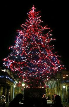 Covent Garden Christmas Tree, London