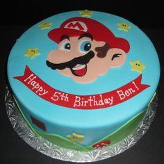 Mario Cake @R Reed More