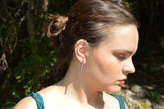 Pearl Drop Earrings, Silver Earrings, Jewelry Gifts, Unique Jewelry, Bridesmaid Earrings, Minimalist, Pearls, Etsy Shop, Pearl Earrings