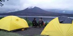 Mount Rinjani trekking 4 days 3 nights start via Sembalun village to summit, lake, hot spring, cave, crater rim Senaru and finish at Senaru