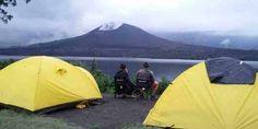 Mount Rinjani trekking 4 days 3 nights start via Sembalun village to summit, lake, hot spring, cave, crater rim Senaru and finish at Senaru