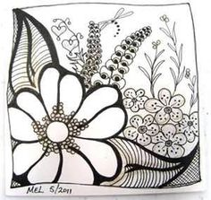 detailed zentangle - Search