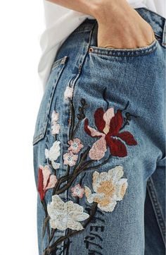 A playful update to your tried and true jeans.