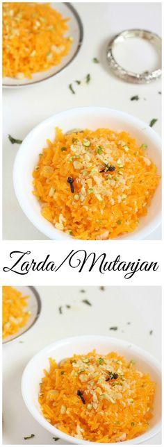 Zarda/Mutanjan Recipe
