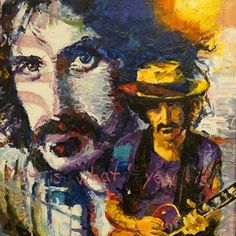 Jerry Blank - #FrankZappа - Original Acrylic on Canvas 24 x 30