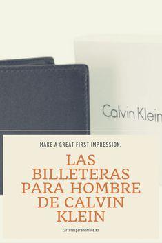 c65e1d7ab77d6 Traemos la última colección de billeteras Calvin Klein para hombre. La  archiconocida compañía fundada en