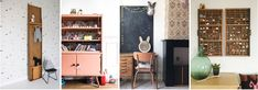 4x vintage items op de kinderkamer Vintage Items, Entryway, Furniture, Home Decor, Entrance, Decoration Home, Room Decor, Home Furniture, Interior Design
