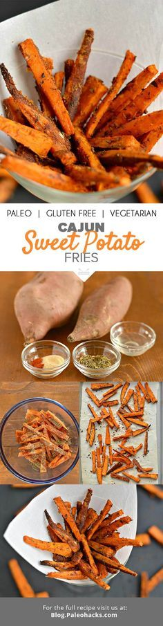 Everyone loves a heap of crispy fries, especially when they pack an antioxidant kick! Get the recipe here: Paleo Recipes, Whole Food Recipes, Cooking Recipes, Potato Recipes, Veggie Recipes, Delicious Recipes, Free Recipes, Dinner Recipes, Clean Eating
