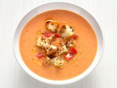 Tuscan Tomato-White Bean Soup Recipe : Food Network Kitchen : Food Network - FoodNetwork.com