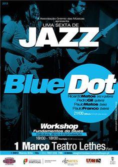 Uma sexta de jazz: Blue Dot