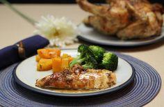 Mustard and Rosemary Roasted Chicken