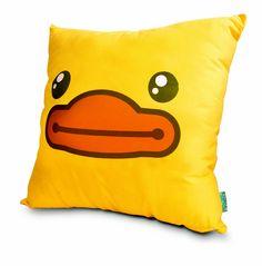 Cushion B.Duck ¡Ahhh que lindo me apapachas B.Duck!