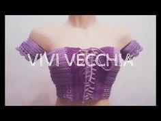 Passo a Passo - Cropped Ciganinha de Crochê - YouTube