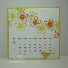 Although parts of the country were extremely dry this year, we had more rain than usual on the Valley Isle. As a result, it seems that anything that could bloom is blooming. That includes my June. Calendar Printable, 9 And 10, Stampin Up, June, Rain, Bloom, Bullet Journal, Country, Rain Fall
