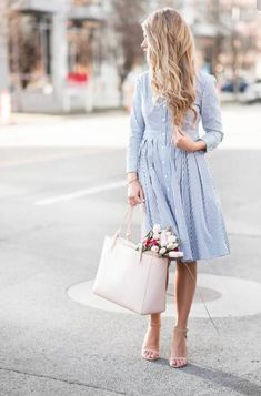 Button down dress.