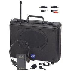 Amplivox Audio Portable Buddy Pa System (wireless)