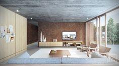 naE | Architecture | Casa Cedro | 2015 | Living