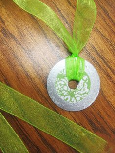 Super cute and easy washer necklace craft -First Grade Wow: Mother's Day