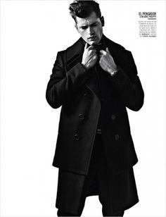 Sean O'Pry by David Roemer for Vogue Hombre | Ozarts Etc