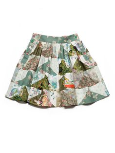Patchwork skirt from Lu Flux