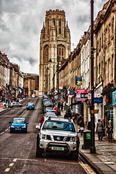 Bristol University Tower, England