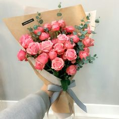 It's a beautiful day with gorgeous flowers. Beautiful Bouquet Of Flowers, All Flowers, Beautiful Flowers, Fleur Orange, Bloom Where You Are Planted, Luxury Flowers, Pink And White Flowers, Rose Bouquet, Boquet