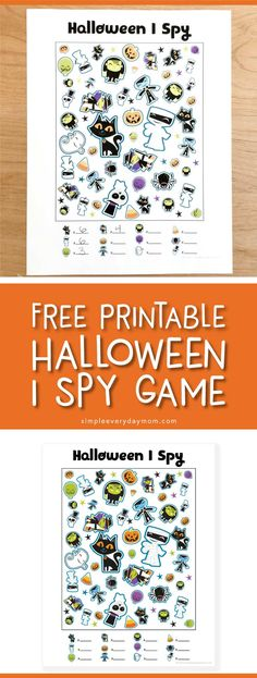 9 Simple Halloween Activities For Kids The Whole Family Will Love Free Printable Halloween I Spy Game Printable Activities For Kids Halloween Class Party, Fairy Halloween Costumes, Holidays Halloween, Kindergarten Halloween Party, Family Halloween, Halloween Makeup, Halloween Ideas, Halloween Bingo, Halloween Games For Kids