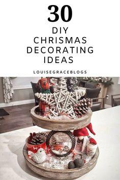 Diy Xmas Gifts, Diy Christmas Decorations Easy, Homemade Christmas Gifts, Christmas Projects, Holiday Crafts, Christmas Ornaments To Make, Christmas Stuff, Christmas Christmas, Christmas Inspiration