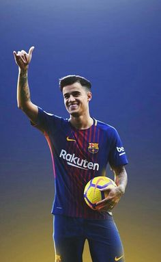 New Barcelona signing Philippe Coutinho is unveiled at Camp Nou on January 2018 in Barcelona, Spain. The Brazilian player signed from Liverpool, has agreed a deal with the Catalan club until 2023 season. Soccer News, Soccer Games, Play Soccer, Good Soccer Players, Football Players, Fc Barcelona, Coutinho Wallpaper, Neymar, World Cup