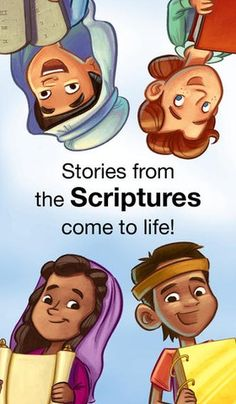 53 Conference Activities for Kids: LDS Scripture Stories App (on iTunes)