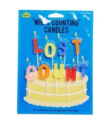 Lost | Lost Count Happy Birthday Candles at ASOS