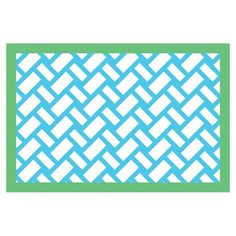 I pinned this Basketweave Place Mat - Set of 4 from the Design Report: The Preppy Party event at Joss & Main!